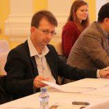 Michal Vajda - předseda poroty (vlevo), Michael Grohotolsky (vpravo)