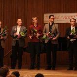 odborná porota (zleva): Jiří Slovík, Čeněk Svoboda, Michal Hájek, Michael Grohotolsky a Michal Vajda