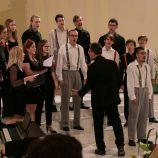 Besharmonie a Pueri gaudentes, Praha; sbormistr: Libor Sládek